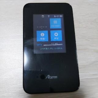 エヌイーシー(NEC)の(中古)モバイルルーター Aterm MR03LN NEC(その他)