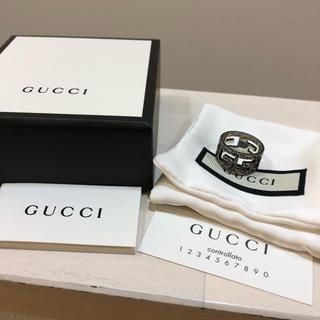 グッチ(Gucci)のGUCCI アラベスク Gロゴ リング(リング(指輪))