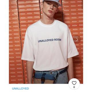 STYLENANDA - unalloyed  ロゴ tシャツ