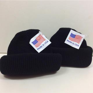 ロスコ(ROTHCO)のロスコニット帽 黒  2個セット ROTHCO 軍物ニット帽(ニット帽/ビーニー)