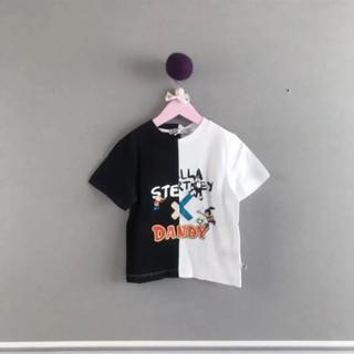 ステラマッカートニー(Stella McCartney)の⚫︎STELLA McCARTNEY⚫︎Dandy 白黒トップス 2Y(Tシャツ/カットソー)