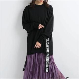 ホリデイ(holiday)のSUPER FINE DRY L/S T-SHIRT(TAPE)HOLIDAY(Tシャツ(長袖/七分))