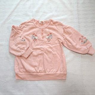 Souris - スーリー 刺繍トレーナー 100