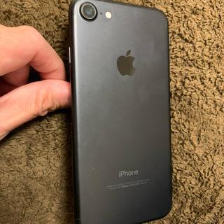 アップル(Apple)のiPhone7 128GB ブラック ソフトバンク(スマートフォン本体)