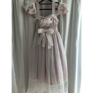メタモルフォーゼタンドゥフィーユ(metamorphose temps de fille)のlady tulle dress(ロングワンピース/マキシワンピース)