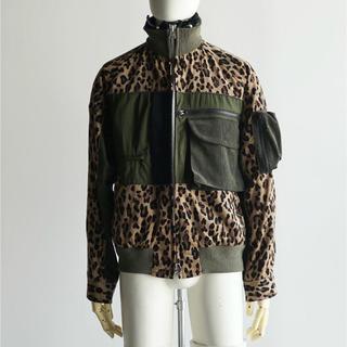 サカイ(sacai)の19AW sacai Leopard Blousont レオパードブルゾン(ブルゾン)