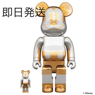 メディコムトイ(MEDICOM TOY)のBE@RBRICK future mickey 400% 100% セット(キャラクターグッズ)