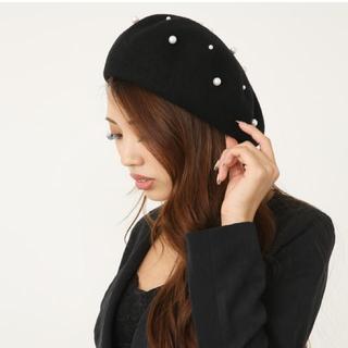 リエンダ(rienda)のrienda💄Fパールウールベレー帽(ハンチング/ベレー帽)