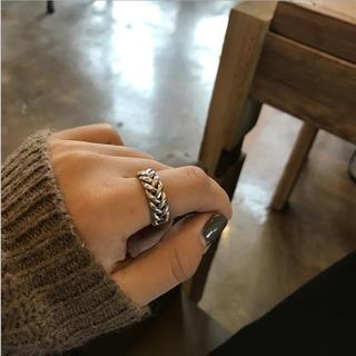 L'Appartement DEUXIEME CLASSE - NEW♡可愛い編み上げリング・silver925