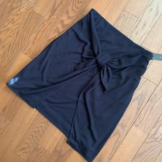 スコットクラブ(SCOT CLUB)の【新品】スコットクラブ系 リボン付ミニスカート(ミニスカート)
