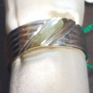 シルバーと9Kのリング(リング(指輪))