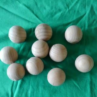 木製マッサージボール10個(その他)