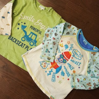3can4on - 3can4on Mini-K 長袖Tシャツ size90 2枚組