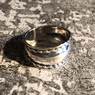 シルバー925 シルバーリング  シンプルリング スプーン 銀 指輪(リング(指輪))