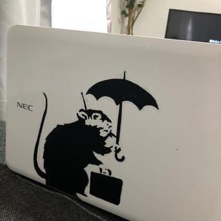 バンクシー  ウォールステッカー  ステッカー シール 北欧 ねずみ ネズミ 鼠(その他)
