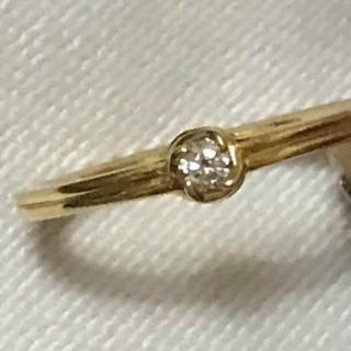 AHKAH - 週末お値下げ AHKAH アーカー ダイヤ リング 指輪 0,05ct