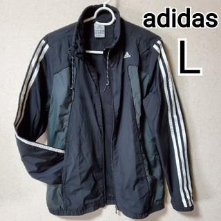 adidas - adidas アディダス ナイロンジャンパー L 黒