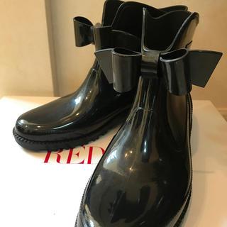 レッドヴァレンティノ(RED VALENTINO)のレッドバレンチノ レインブーツ 37(レインブーツ/長靴)