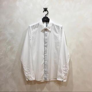 【AVOID】前立て切り替えホワイトシャツ