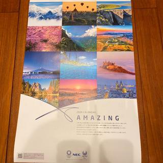 エヌイーシー(NEC)のAMAZING◆NEC 2020年 カレンダー 壁掛け(カレンダー/スケジュール)