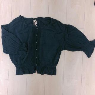 ダブルクローゼット(w closet)のトップス(シャツ/ブラウス(半袖/袖なし))
