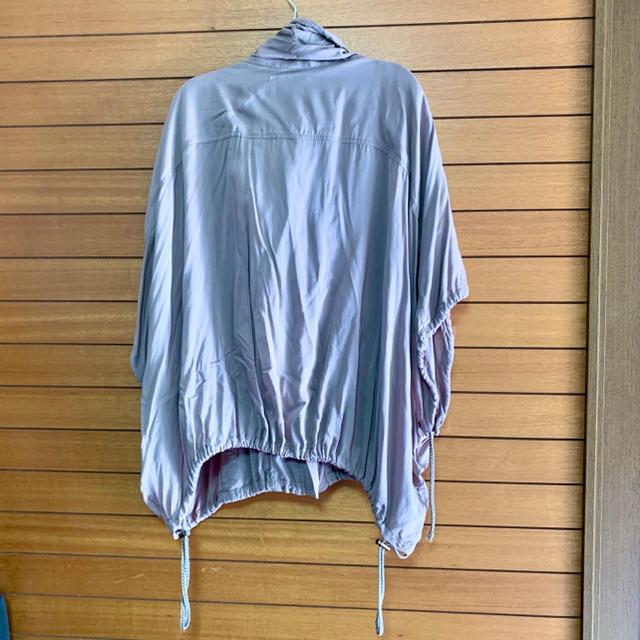 ROSE BUD(ローズバッド)のROSE BUD茶色ブルゾン(レーヨン100%) レディースのジャケット/アウター(ブルゾン)の商品写真