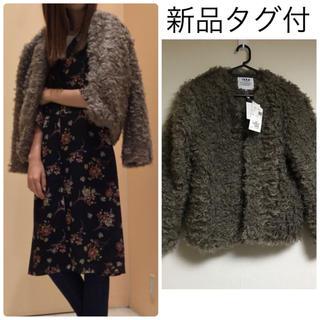 ikka - 定価8424円❤️【新品タグ付】ikkaファーブルゾン♡