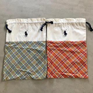ラルフローレン(Ralph Lauren)のラルフローレン スリッパ 袋 2枚セット(スリッパ/ルームシューズ)