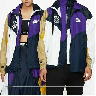 サカイ(sacai)のsacai NIKE ブルゾン ジャケット xsサイズ(ナイロンジャケット)
