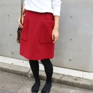 IENA - イエナ ビッグポケット 膝上スカート