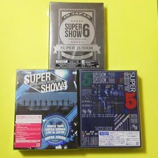 スーパージュニア(SUPER JUNIOR)のSUPER JUNIOR【初回生産限定盤】SUPER SHOW4~6(Blu-r(ミュージック)