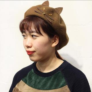 rivet & surge - ★新品★リベットアンドサージ   ねこ ベレー帽