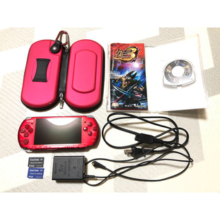 PlayStation Portable - 【PSP-3000】レッド