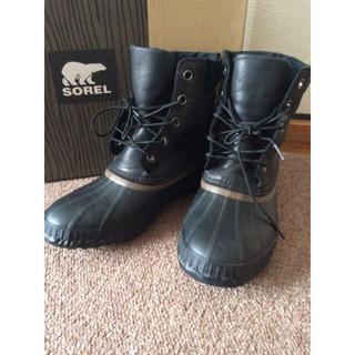 ソレル(SOREL)のソレル 防水防寒スノーブーツ 27㎝ -32℃対応フィンランド購入(ブーツ)