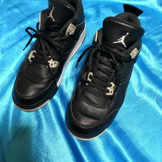 "ナイキ(NIKE)の Nike Air Jordan 4 Retro GS (BG) ""Oreo"" (スニーカー)"