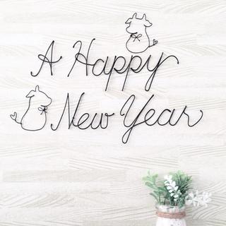 ワイヤークラフト♢ A Happy New Year  丑年(その他)