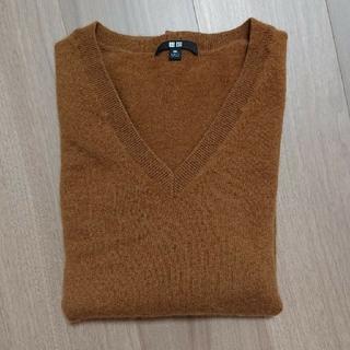 ユニクロ(UNIQLO)のユニクロ カシミアVネックセーター3XL(ニット/セーター)
