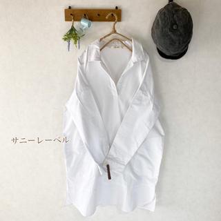 Sonny Label - アーバンリサーチ サニーレーベル オフホワイト シャツ チュニック ワンピース