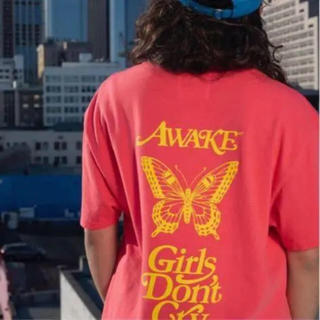 AWAKE - Lサイズ awake ny x girls don't cry t-shirt