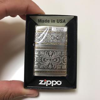 ジッポー(ZIPPO)の新品未使用 ジッポー アラベスク(タバコグッズ)