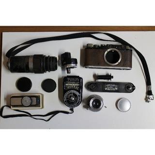 ライカ(LEICA)のライカ LEICA Ⅱ2(D2) Elmar 5cm Hektor 13.5cm(フィルムカメラ)