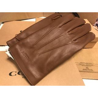 コーチ(COACH)のコーチ メンズ 手袋 新品未使用(手袋)