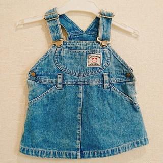 90cm☆PETIT mammy☆ジャンパースカート(ワンピース)