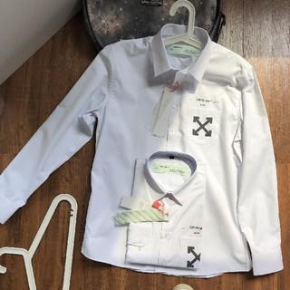 OFF-WHITE - OFF WHITE  ホワイト シャツ
