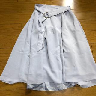 ティティアンドコー(titty&co)のフレアスカート(ひざ丈スカート)