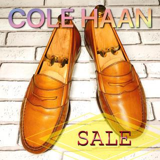 Cole Haan - 【SALE】COLE HAAN コールハーン コインローファー 黄土 ベージュ