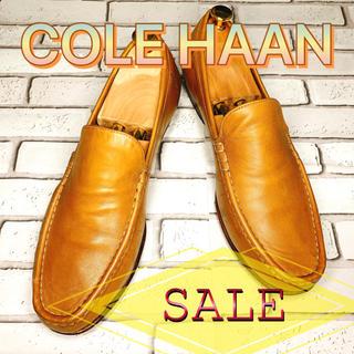 Cole Haan - 【SALE】COLE HAAN コールハーン スリッポン  黄土 ベージュ