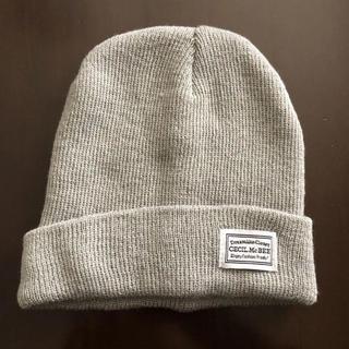 セシルマクビー(CECIL McBEE)のニット帽 CECIL McBEE(ニット帽/ビーニー)