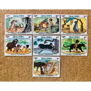 ディズニー(Disney)のディズニー 外国切手 7枚セット(使用済み切手/官製はがき)