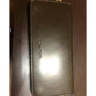トムフォード(TOM FORD)のtomford トムフォード 財布 ウォレット 皮 (長財布)